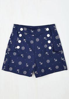 Juega por juguetones Shorts en Nautical