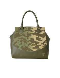 This super stylish tote bag is small and convenient to carry, the double small allow you to carry it on your shoulder or wrist. With a printed military flair, this chic tote is perfect for the tough and smart women. This bag offers something different than most military-inspired bags you have ever seen. With a …