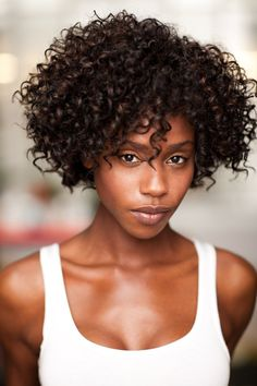 Tenika Davis - Amazing curls and cut @ biracial and mixed hair