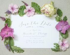 "save the date""sweet lavender"", online bestellbar bei www.papierhimmel.com"