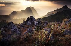 On the top of Doi Chiang Dao by Zolashine, via Flickr