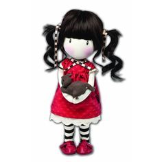 Santoro Gorjuss 14-inch Ruby Doll