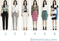 How to use prints and patterns to balance your body - http://boomerinas.com/2013/02/how-to-use-prints-patterns-to-hide-fat/