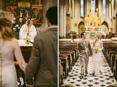 Photographs of an elopement ceremony at the American Cathedral in Paris by Paris wedding photographer Stacy Reeves