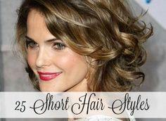 25 Short Hairstyles