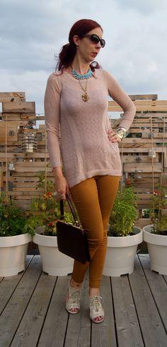 Fall Fashion Chic!: #winners #knit top, #H&M pants, #marshalls shoes, #shopforjayu #necklace!: http://www.thepurplescarf.ca/2014/09/fashion-my-style-fall-fashion-chic.html #fashion #style #styletips #fallfashion #toronto #thepurplescarf #melanieps #mystyle