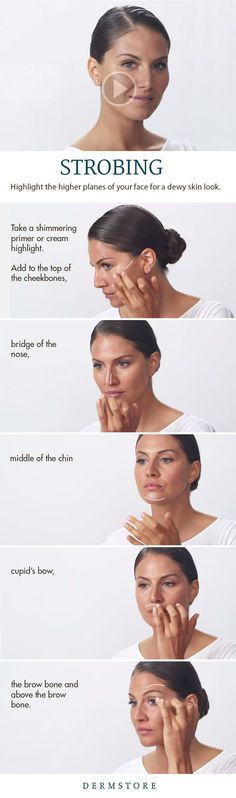 It's called strobing, and it will help you highlight the higher planes of your face for that dewy skin look.