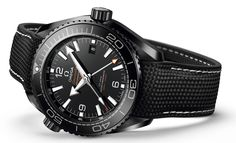 Omega Seamaster Planet Ocean GMT Deep Black Watches In Ceramic Watch Releases More