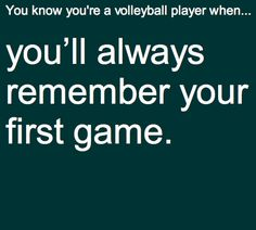 True. Against Wyandot. I served one point and got so nervous I dropped the ball as I served next point  yikes.