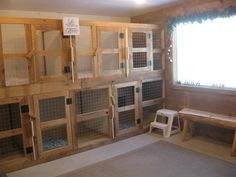 boarding kennel designs and layouts | Dog Boarding Kennels Sudbury Ontario http://ontariopets.ca/place ...