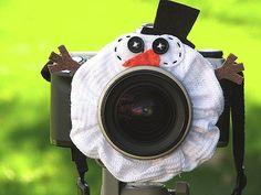 Snowman Lens Pet