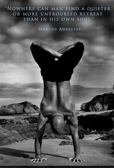 "rebellesociety: "" (via Notes from a Stoic: Marcus Aurelius on Mastery, Wholeness & Self-Control.) "" Adho Mukha Vrksasana in Padmasana (Handstand in Lotus Pose) Yoga Inspiration, Fitness Inspiration, Motivation Inspiration, Sup Yoga, Yoga Posen, Yoga For Men, Yoga Man, Male Yoga, Yoga Photography"