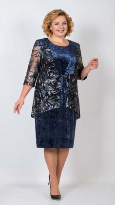 Платья для полных женщин белорусской компании Трикотекс-стиль весна 2018