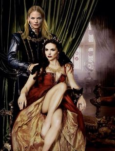 Awesome Regina and Emma (Lana and Jen) in awesome art