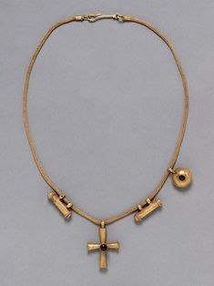 Culture: Byzantine (Constantinople [?])  Date: 5th/6th century  Material: Gold, garnets