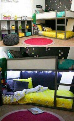 35 Cool IKEA Kura Beds Ideas For Your Kids\' Rooms - DigsDigs | kids ...