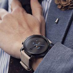 Chrono Gun Metal/ Sandstone Leather | MVMT Watches