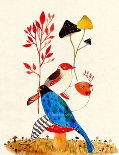 黃祈嘉 Chichi Huang: Birds