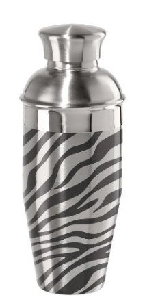 Amazon.com: Oggi Zebra Stainless Steel Cocktail Shaker: Kitchen & Dining  Saw this at Target like 3 years ago, wanted it ever since.  So mad at myself for not buying it that day!
