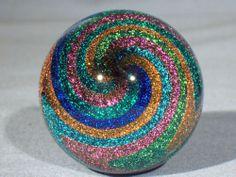 """""""Stardust"""" (Hand Made Art Glass James Alloway)"""