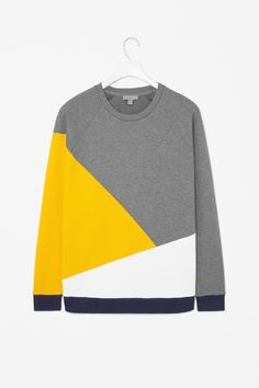 Block colour sweatshirt - COS