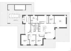 Typehus 184 m² FUNKIS File Image, Soho, House Plans, Sweet Home, New Homes, Floor Plans, How To Plan, Building, Inspiration