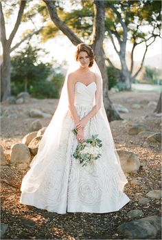 Classically Beautiful Montecito Wedding photographed by Pat Moyer Photography at the Birnam Wood Golf Club. Beautiful Bride, Beautiful Dresses, Bridal Dresses, Wedding Gowns, Wedding Bells, Just In Case, Wedding Inspiration, Wedding Ideas, Wedding Trends
