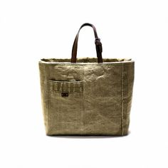 Canvas tote bag vintage handbag recycled bag tote bag with