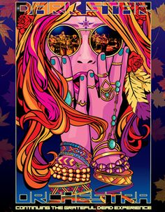 Continuing our fall promotions, we are pleased to offer a chance to win one of two pairs of tickets to see Dark Star Orchestra, at the Calvin Theatre in Northampton, MA at on Friday, December Rock Posters, Concert Posters, Festival Posters, Music Posters, Trippy Music, Mundo Hippie, Graffiti, Acid Art, Psy Art