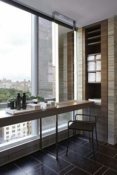 Park Hyatt New York by Yabu Pushelberg #bathroom #parkhyatt #newyork #vanity