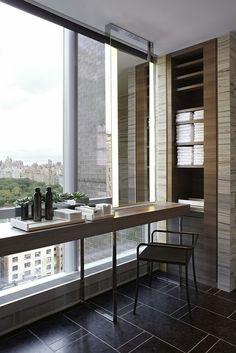 Park Hyatt New York by Yabu Pushelberg #bathroom #parkhyatt #newyork #vanity