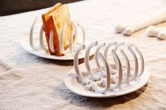 skeleton toast rack.