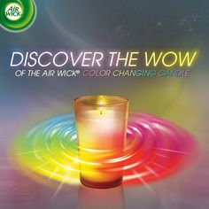 Have you been wowed by the Air Wick Color Changing Candle? Discover the magic and share your reaction for a chance to #WIN! http://www.facebook.com/AirWickUS/app_397344676985543