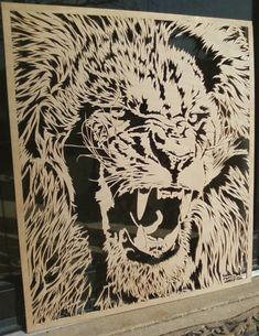 I make unique, intricate wooden pictures/portraits on a scroll saw...even custom work from YOUR photo(s)