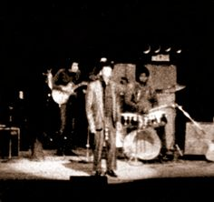 Muddy Waters, Mike Bloomfield, Buddy Miles and Paul Butterfield, Chicago 1969