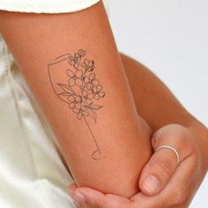 Above Elbow Tattoo, Elbow Tattoos, Sleeve Tattoos, Wine Tattoo, Inkbox Tattoo, Little Tattoos, Small Tattoos, Small Hip Tattoos Women, Delicate Tattoos For Women