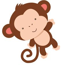 Clipart can be used for many decorations. Jungle Theme Birthday, Jungle Party, Safari Party, Safari Theme, Baby Birthday, Baby Shower Themes, Baby Boy Shower, Monkey Crafts, Monkey Art