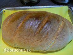 Fotorecept: Domáci chlebík Russian Recipes, Favorite Recipes, Bread, Food, Polish, Basket, Meal, Enamel, Essen