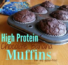 start your morning with high protein muffins for good fuel and fast clean up
