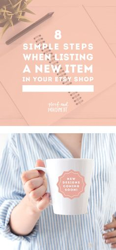 If you're feeling lost with your Etsy shop then start implementing these workflows to list items consistently and create a successful Etsy shop today! - Earn Money at home