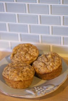 Banana, spelt, quinoa muffin recipe