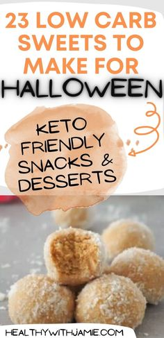 Low carb sweets and snacks are important to have on hand to keep you on your healthy journey. If you find yourself without a keto friendly snack, it could sabotage your commitment and nobody needs that! Following a no sugar, low carb lifestyle can completely change your health. Test out all of these low carb, keto approved sweets for yourself this season! Low Carb Sweets, Low Carb Desserts, Low Carb Recipes, Yummy Healthy Snacks, Keto Snacks, Keto Granola, Keto Holiday, Keto Friendly Desserts, Sweets Recipes
