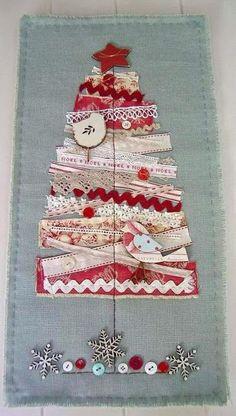 Jenny of ELEFANTZ: Lacy buttony ribbon trees...