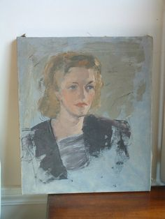 1940s Oil Painting