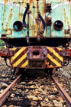 """Can of Rusty Bolts - Train by """"E Juan"""""""