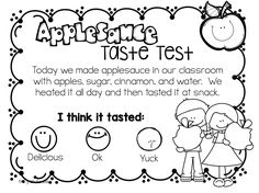 Apple Unit and Crockpot Applesauce Recipe - First Grade Blue Skies