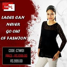 In this ever changing world of style don't just stick to one style change your style statement with amazing range of casual tops cause change is the only constant.