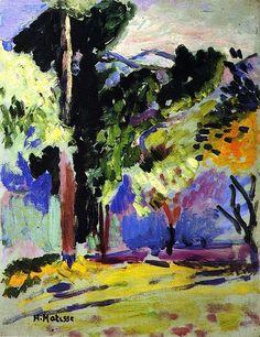 Matisse -paysage à Collioure - 1905