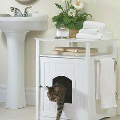 Eğer kedi besliyorsanız kedinin kumunu daha kolay değiştirmek için kum kabına çöp poşeti geçirmeyi deneyin.