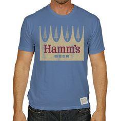 Hamms Beer Men's Short Sleeve Vintage Tee